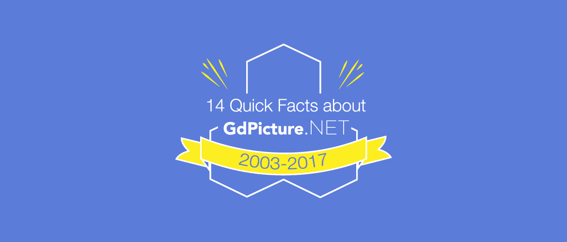 14 Quick Facts about GdPicture.NET Document Imaging SDK