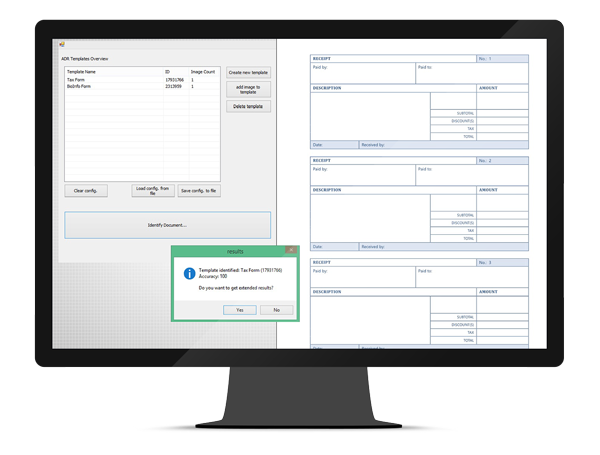GdPicture.NET ADR™: Automatic Document Recognition Engine