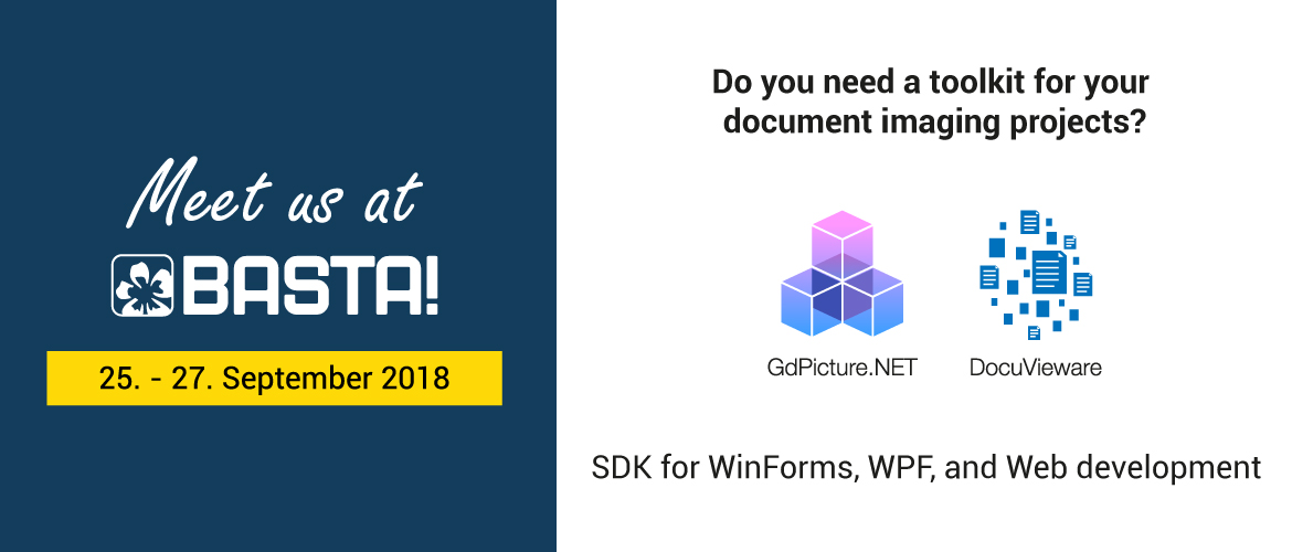ORPALIS is editor of GdPicture.NET and DocuVieware, SDKs for WinForms, WPF, and Web Development