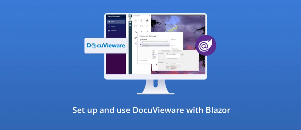Illustration for the blog article: DocuVieware Tutorial for Blazor