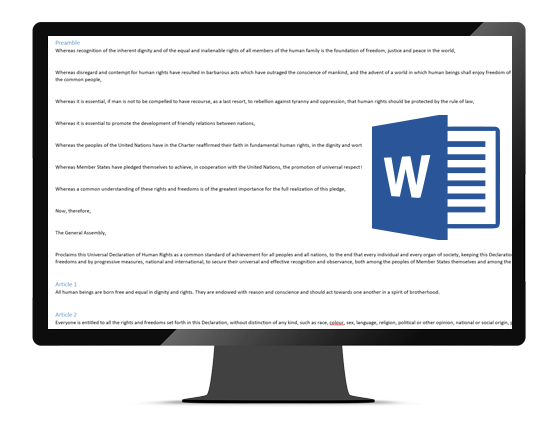 Import from Word (docx) - Pressbooks Userguide