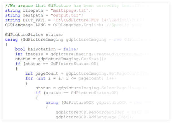 Multipage TIFF Image Processing