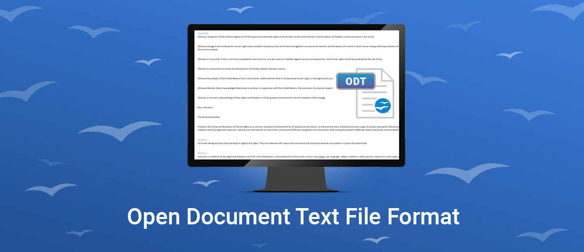 Open Document Text File Format Now Supported In Gdpicture