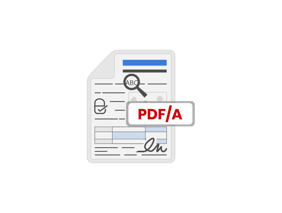 PDF/A conversion engine