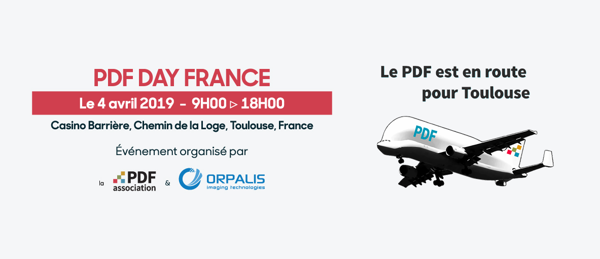 PDF Day France, Toulouse, 4 avril 2019