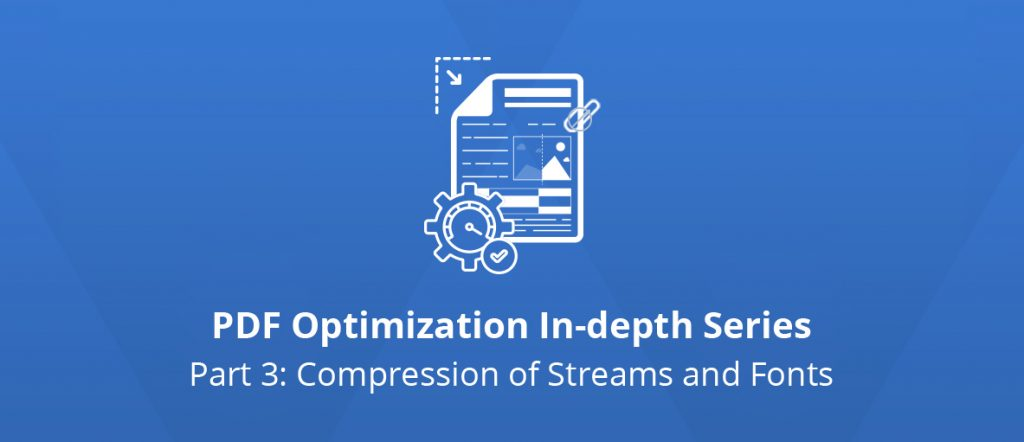 Illustration for the third article of the PDF Optimization In-depth Series.