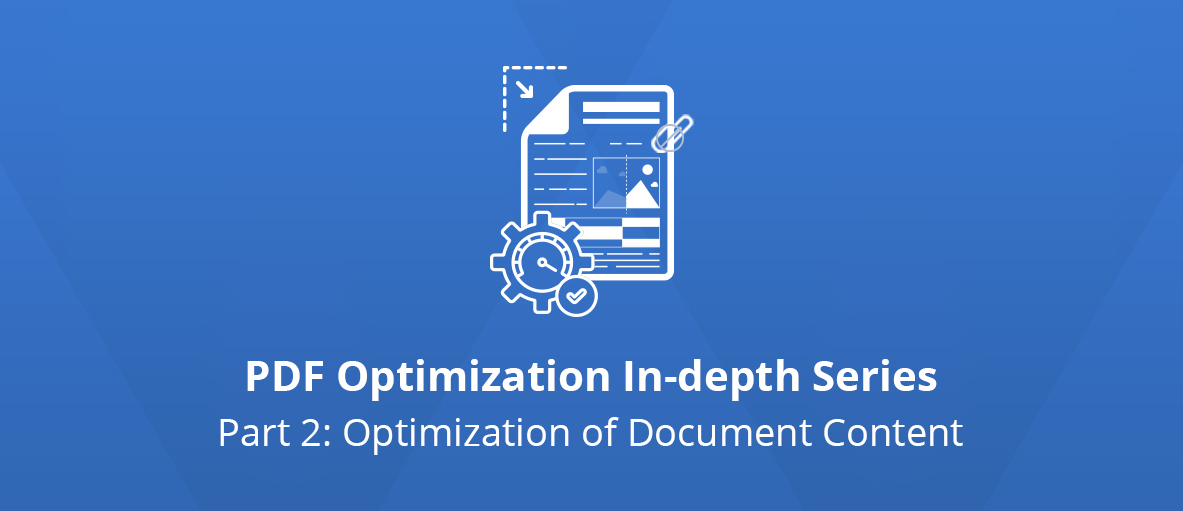 Illustration for the second article of the PDF Optimization In-depth Series