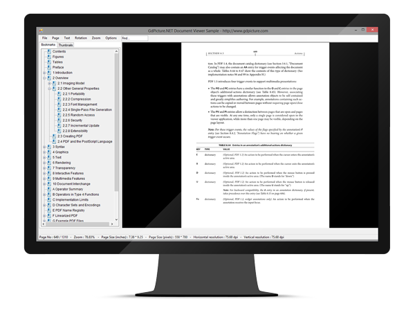 GdPicture.NET PDF Viewer SDK