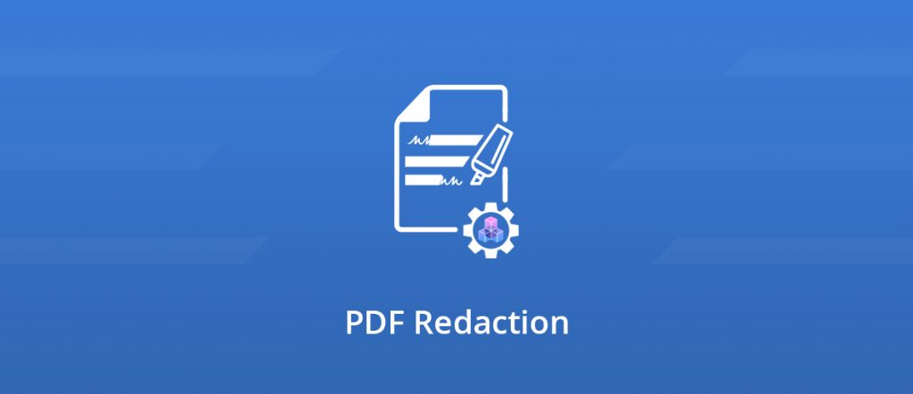 An illustration of a redacted document blog post