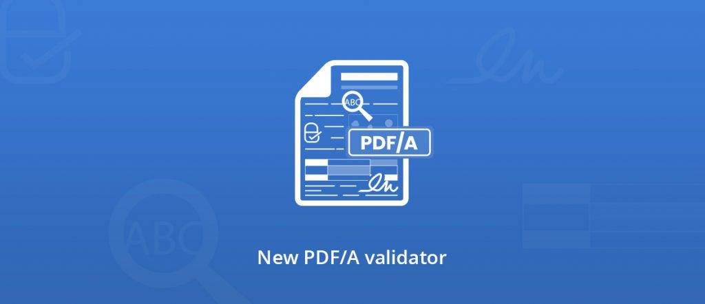 PDF/A validator illustration
