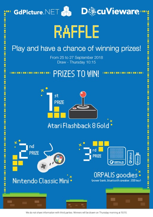 Win prizes with GdPicture.NET and DocuVieware at BASTA!